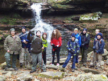 Hiking the Loyalsock Trail - November 2014