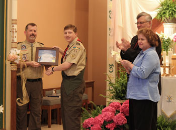 Zachary Geffre Eagle Scout Court of Honor - April 2